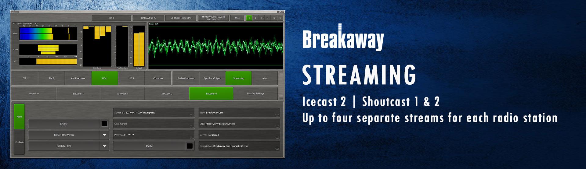 Nieuwe versie BreakawayOne met gratis upgrade voor bestaande gebruikers