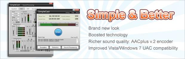 SimpleCast v3.1.0