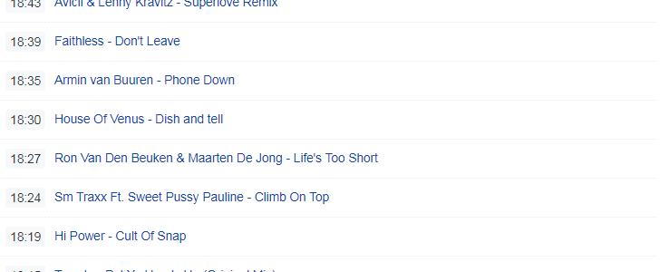 Je eigen radio playlist 7 dagen terug bekijken via radio port Onlineradiobox